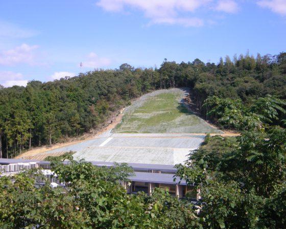 平成23年度 林地崩壊防止工事(北講武地区)