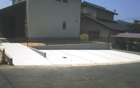 住宅地外構工事